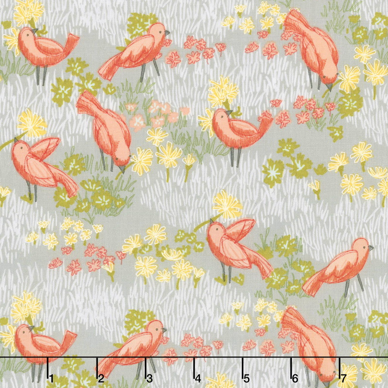 Dandi-Annie - Little Birds Pebble Yardage