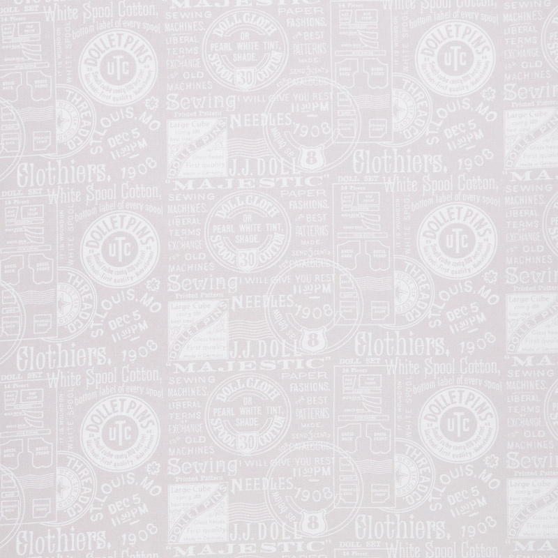 Paperdoll - Paperdoll Text Gray 108