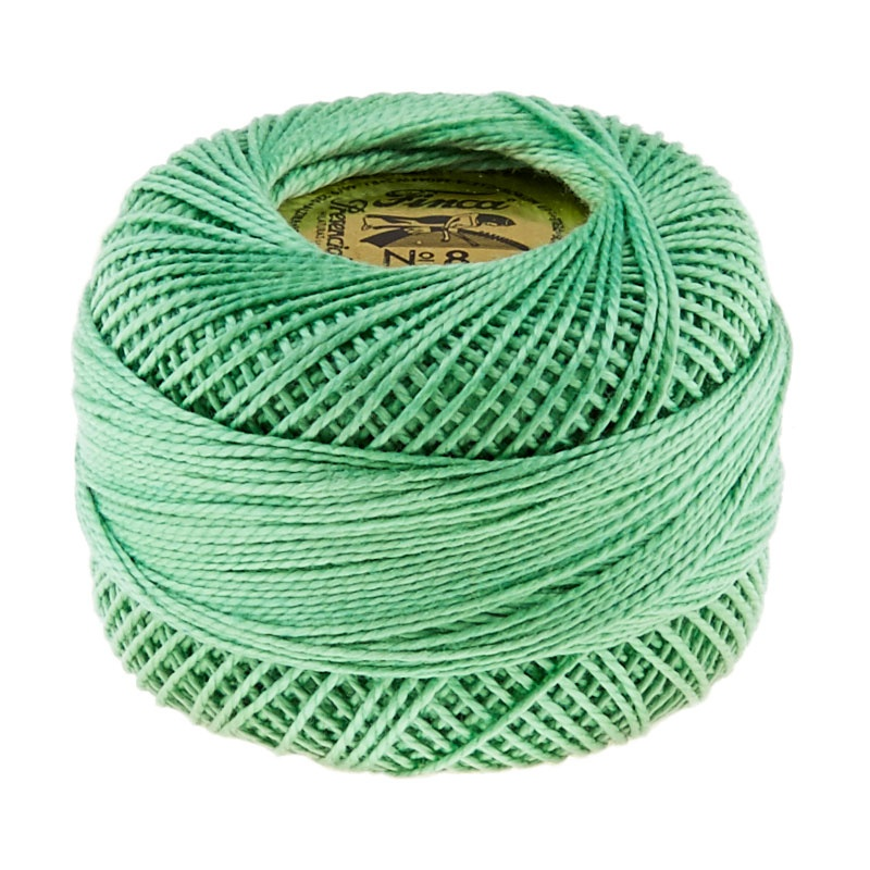 Presencia Perle Cotton Thread Size 8 Nile Green
