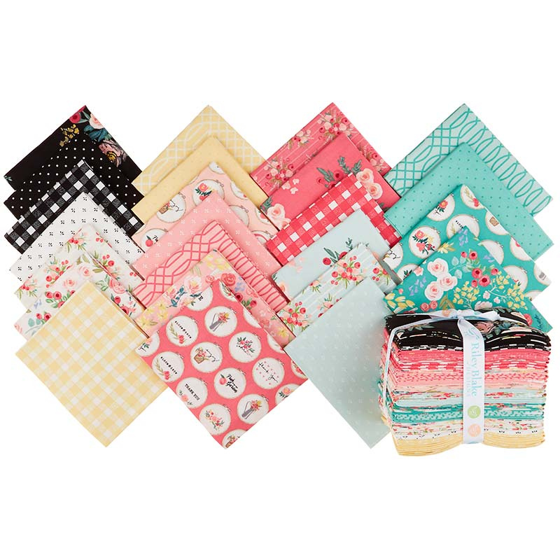 Flower Market Fat Quarter Bundle