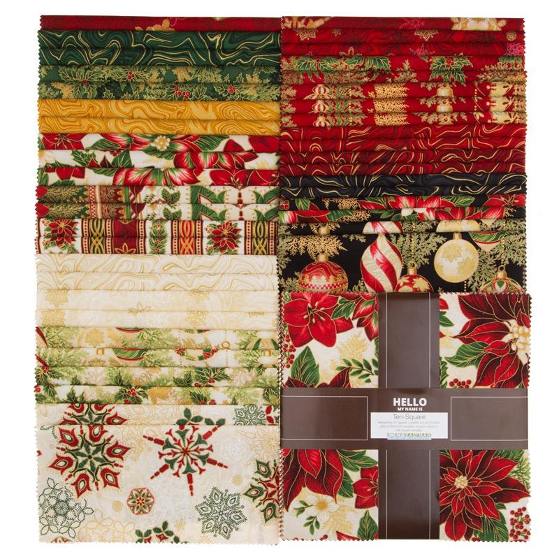 Holiday Flourish 11 Holiday Metallic Ten Squares