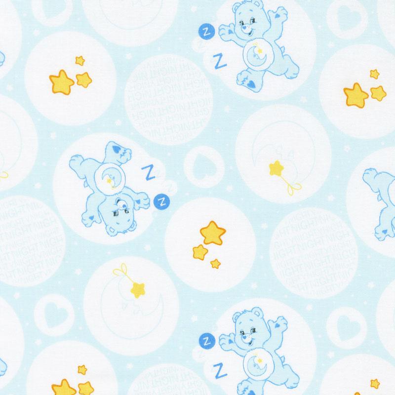 Care Bears - Bedtime Bear Blue Yardage   Camelot Design ...