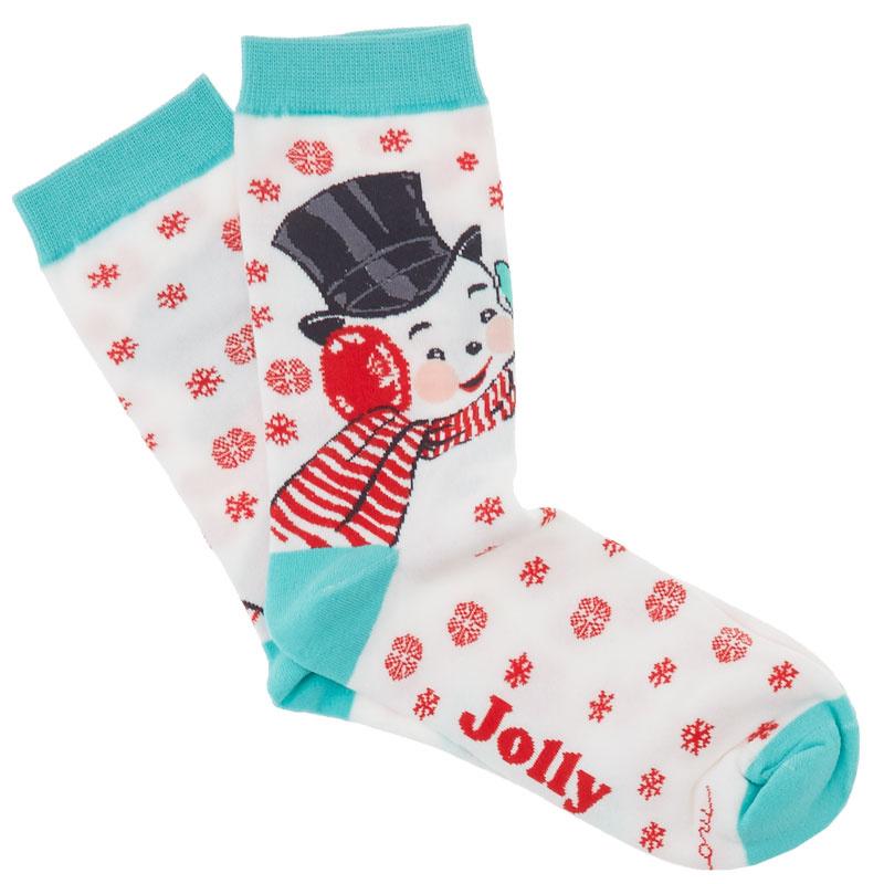 Swell Snowman Socks