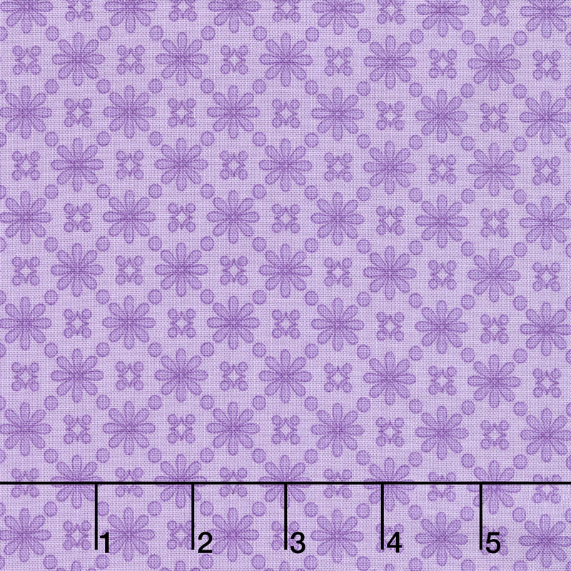 Home Again - Daisy Purple Yardage