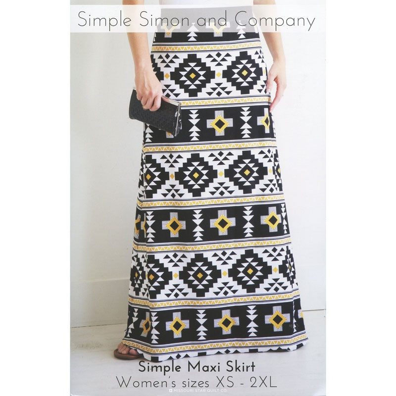 Simple Maxi Skirt Pattern