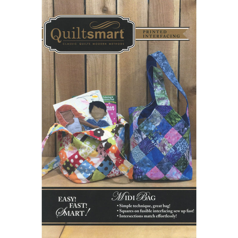 Quiltsmart® Midi Bag Pattern with Interfacing