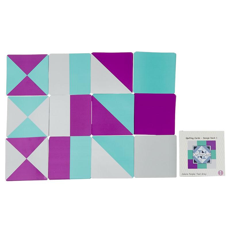 Quilt Block Building Cards - Design Deck 1