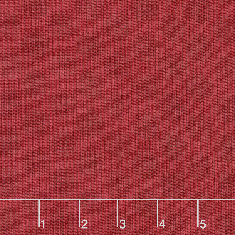 Wilmington Essentials - Red Carpet Circles and Stripes Red on Red Yardage