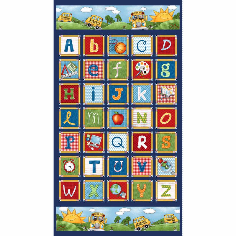 School Zone - Alphabet Multi Panel
