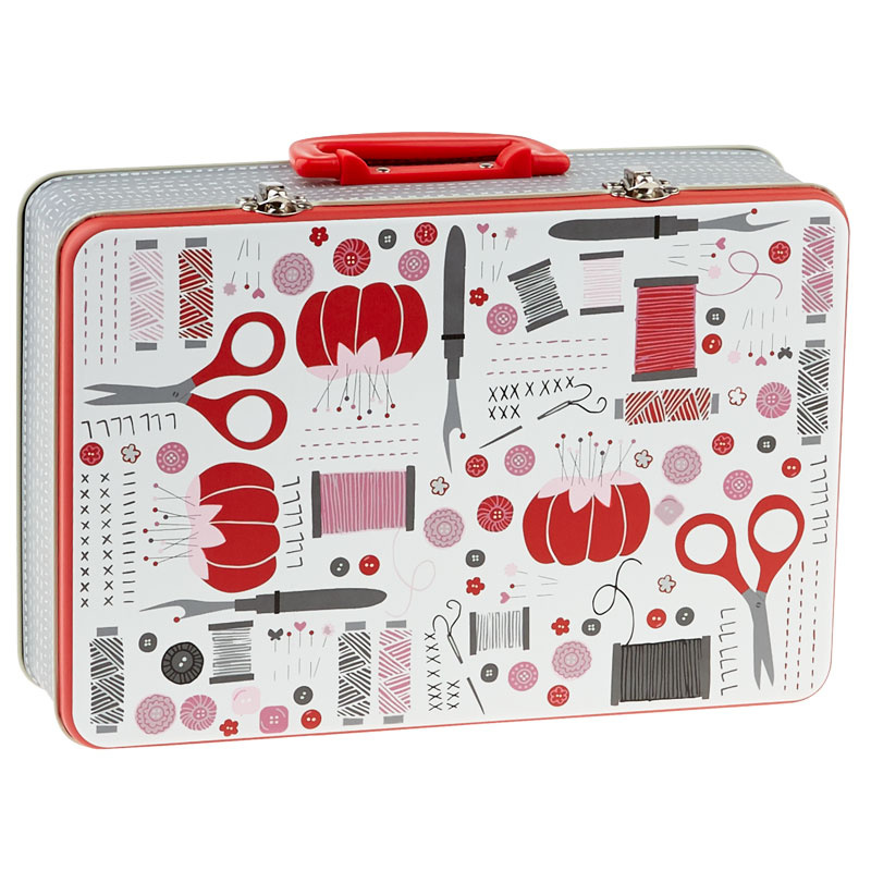 Sewing Notions Lunch Box