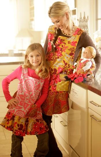 Dressed Alike Apron Pattern