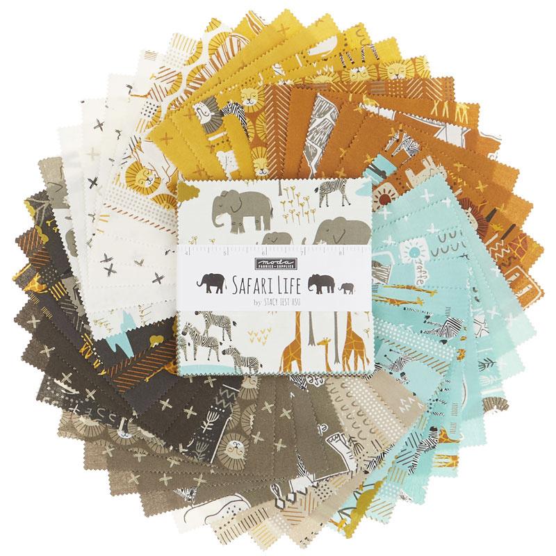 Safari Life Charm Pack