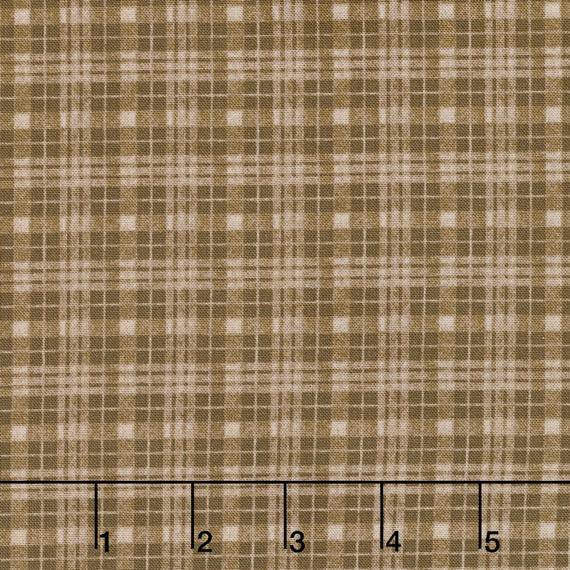Moose Lake - Plaid Mocha Yardage
