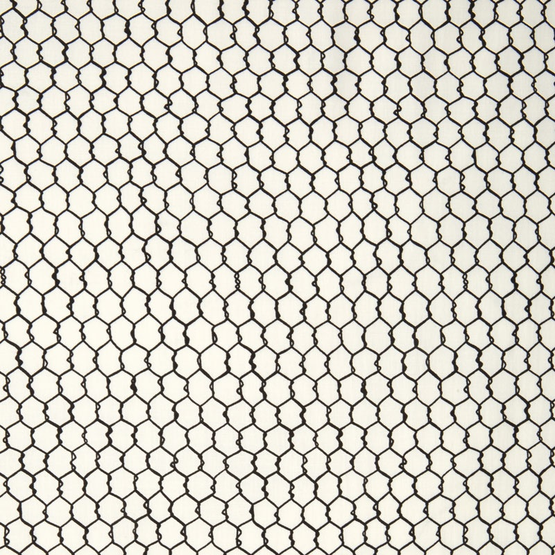 In the Kitchen - Chicken Wire White Yardage