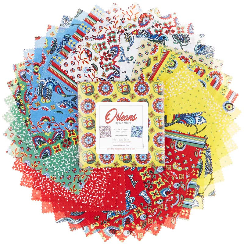 Orleans Charm Pack