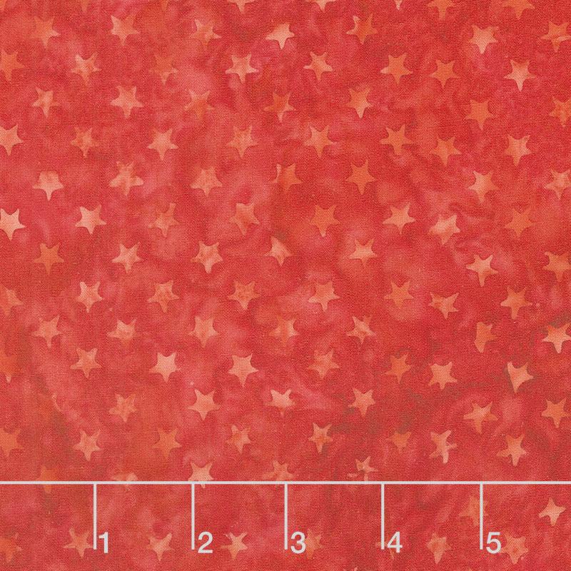 Freedom 2 Batiks - Stars Cherry