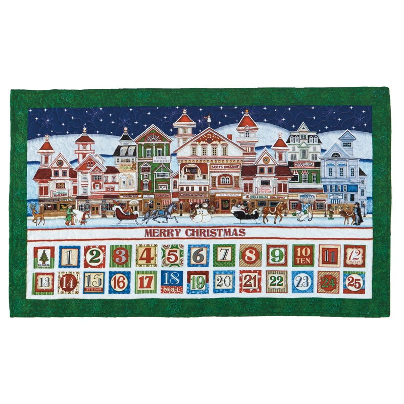 Santa Claus is Coming to Town Advent Calendar Kit