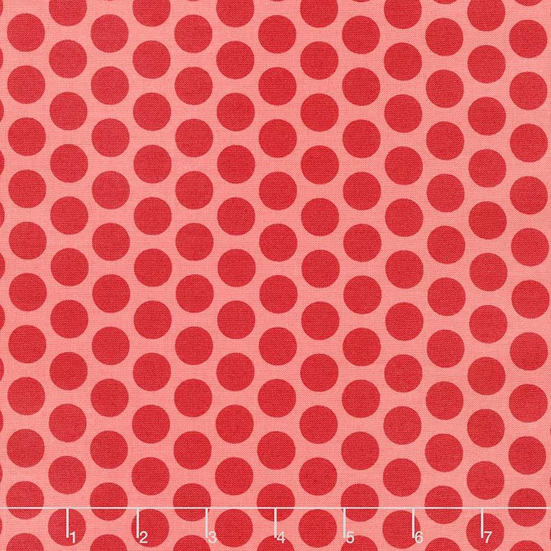 Anna - Spots Raspberry Yardage