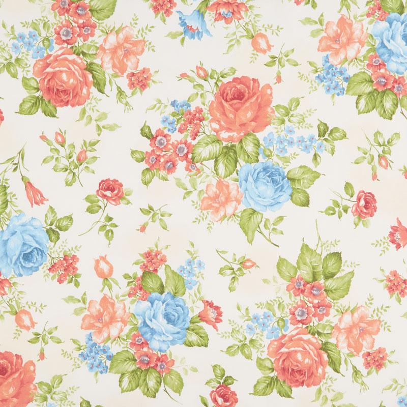 Cassandra - Flowers Cream Yardage