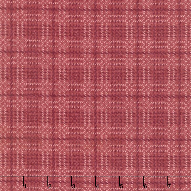 Wool & Needle Flannels VI - Bold Plaid Petunia Yardage