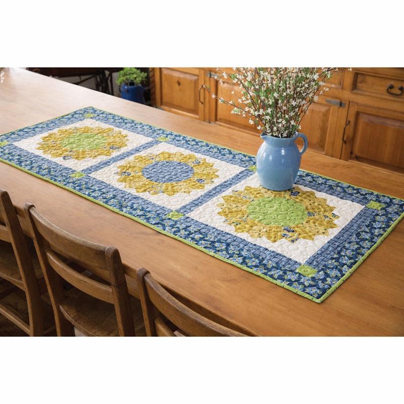 Sunflower Table Runner Kit