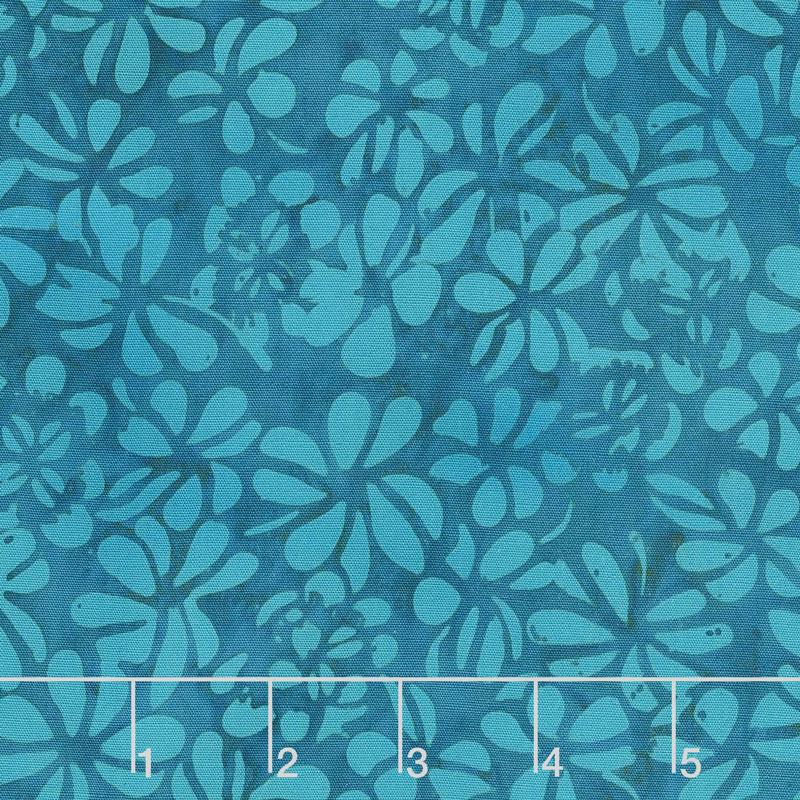 Petal Pushers Batiks - Clover Bermuda Yardage