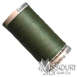 Gutermann 40 WT Cotton Thread Foresty Green