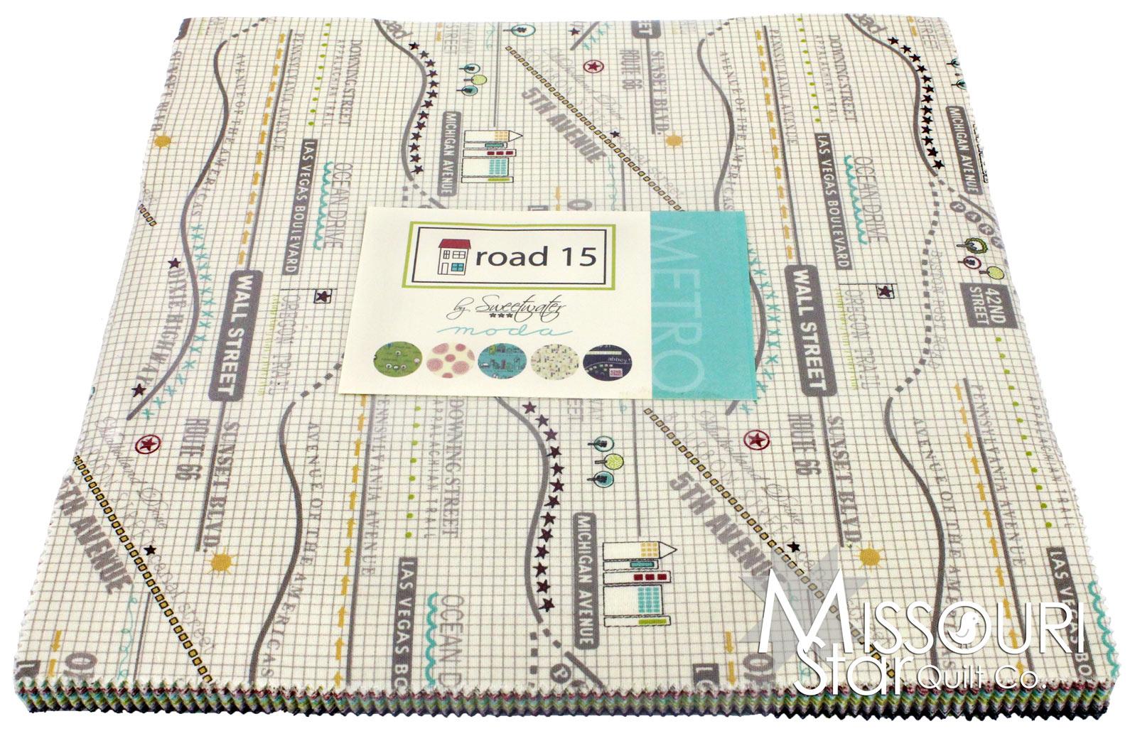 Road 15 Layer Cake