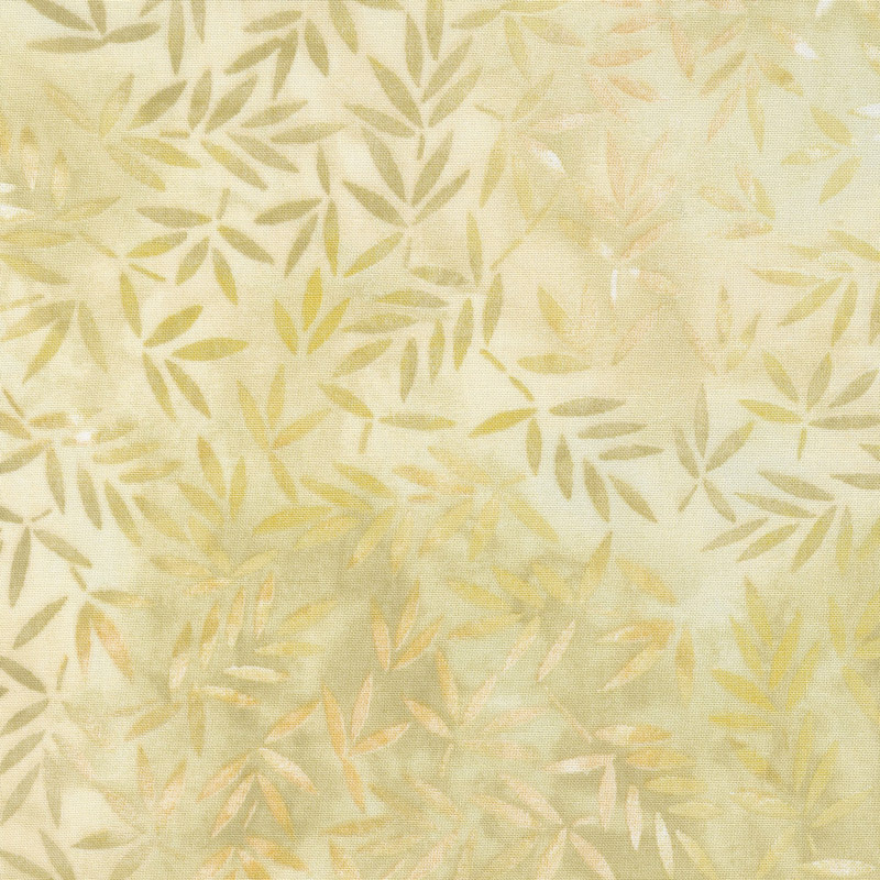 Wilmington Essentials - Mottled Leaves Cream 108