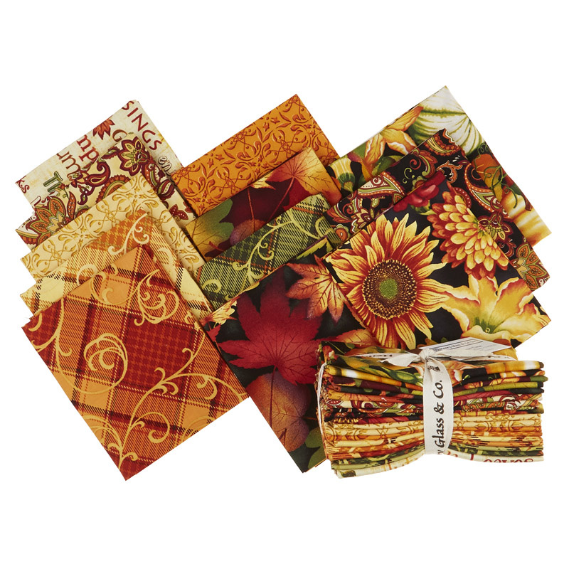 Autumn Time Fat Quarter Bundle