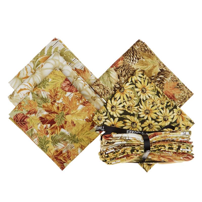 Fall Foliage 5 Easy Pieces Fat Quarter Bundle