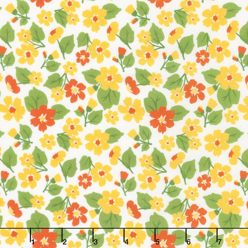 All-Weather Friend - Flower Field Sunshine Yardage