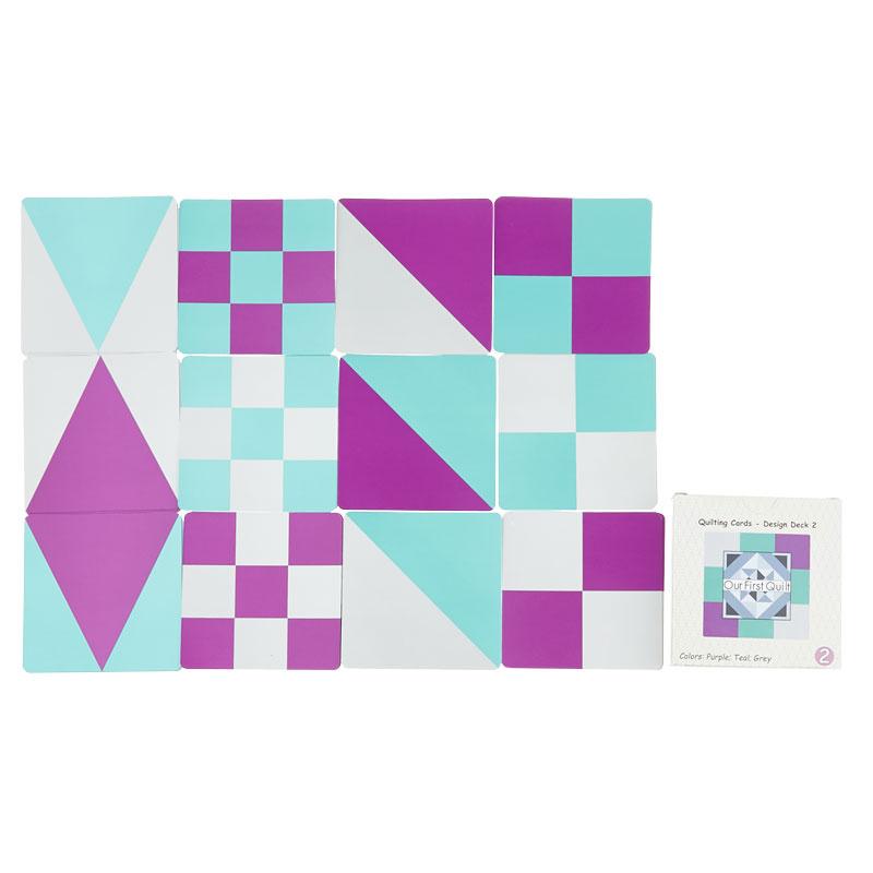 Quilt Block Building Cards - Design Deck 2