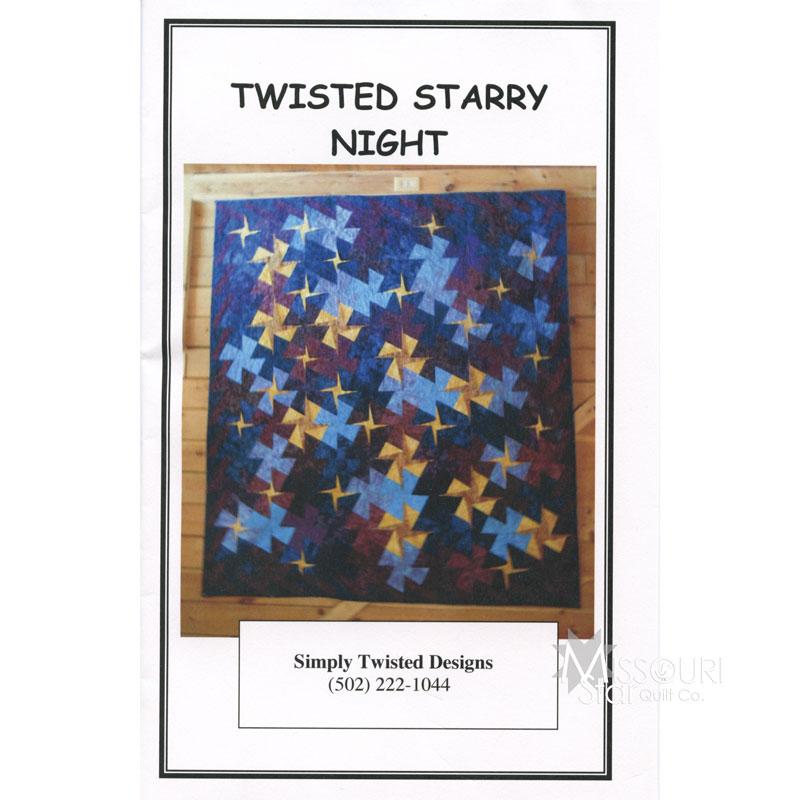Twisted Starry Night Pattern