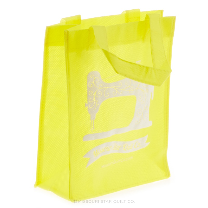 Missouri Star Small Shopping Tote Yellow