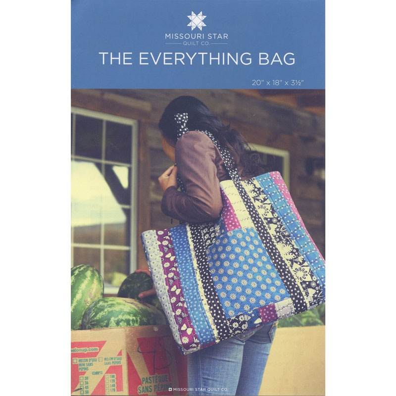 The Everything Bag Pattern By Missouri Star Missouri Star Quilt Co