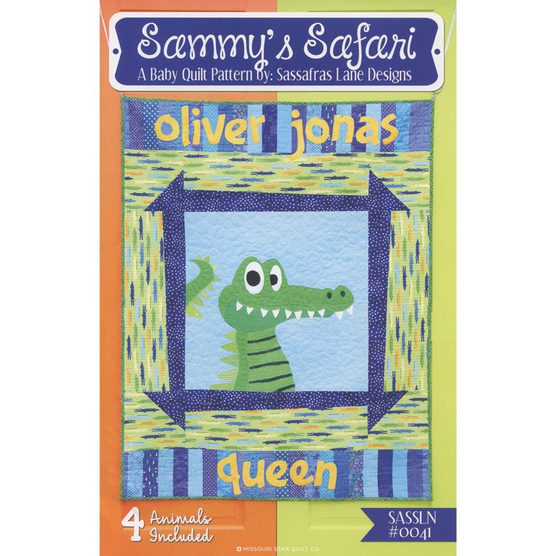 Sammy's Safari Four in One Patterns