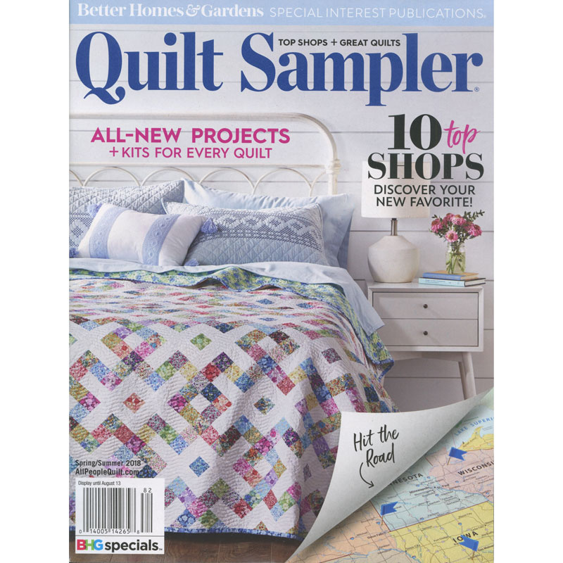 Better Homes and Gardens Quilt Sampler Spring/Summer 2018