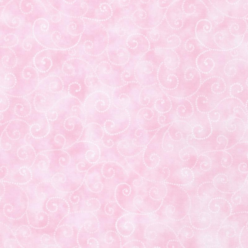 Moda Marble Swirls - Pink Yardage