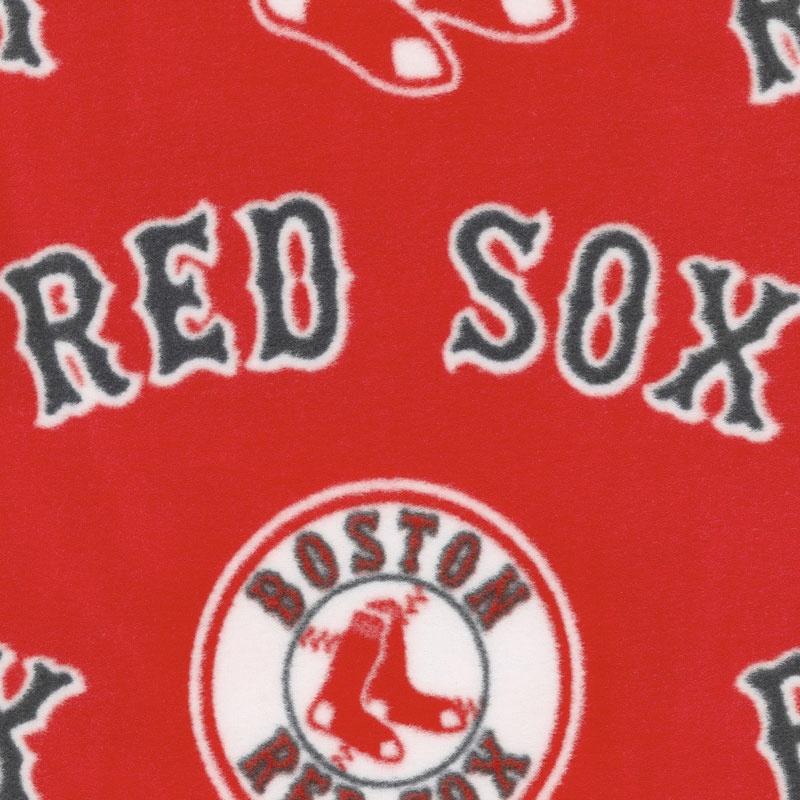 MLB Fleece - Boston Red Sox Red Yardage