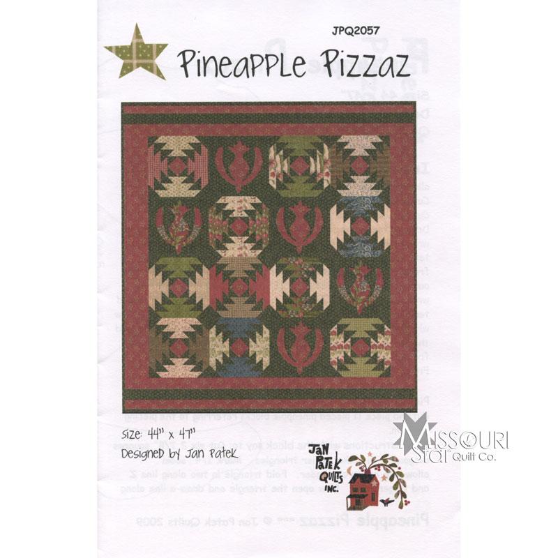 Pineapple Pizzaz Pattern