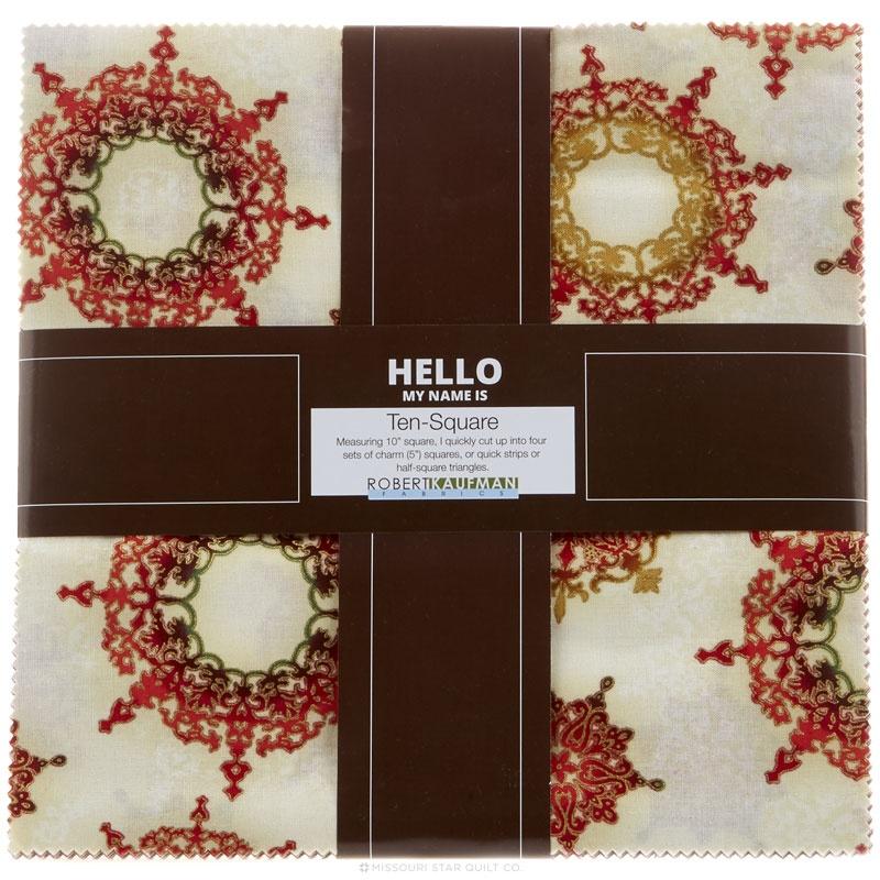 Winter's Grandeur 4 - Holiday Colorstory Metallic Ten Squares