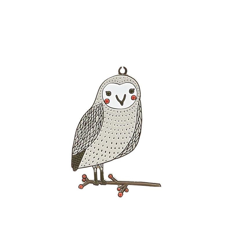 Merriment Owl Ornament