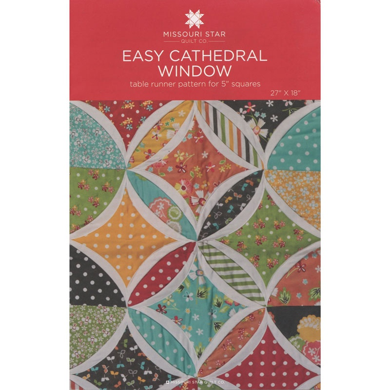 Easy Cathedral Window Pattern by MSQC - MSQC - MSQC ...