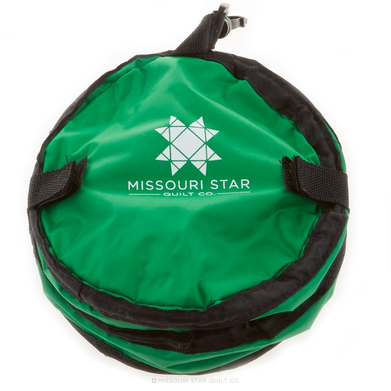 MSQC Collapsible Water Bowl Green