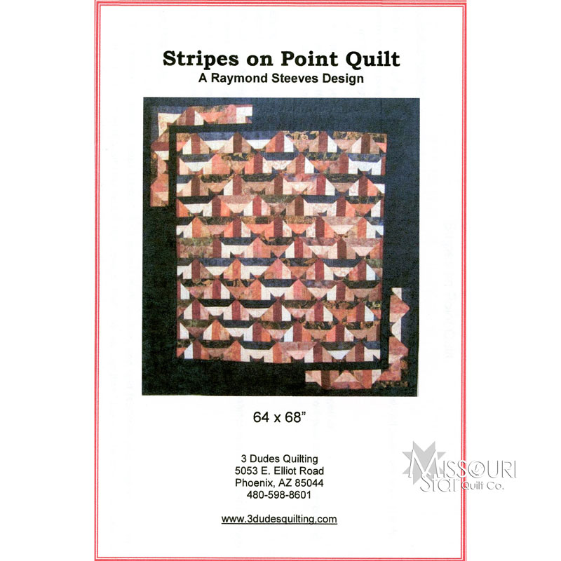 Stripes on Point Pattern