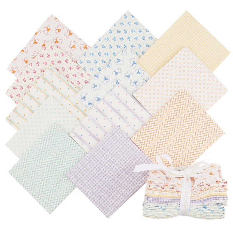Aunt Grace Backgrounds Fat Quarter Bundle
