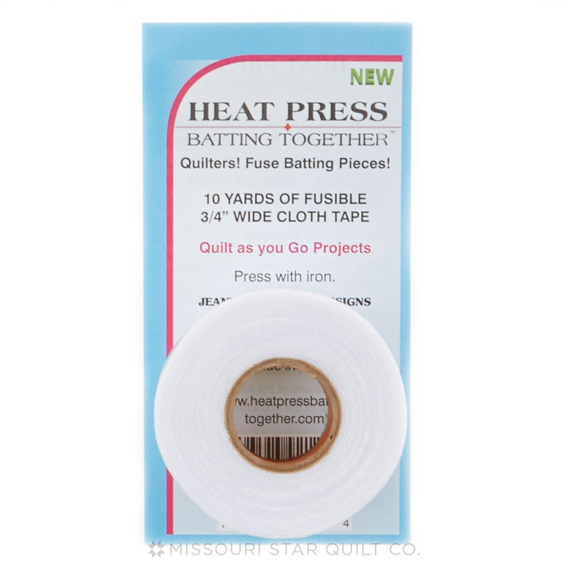 Heat Press Batting Together - White (3/4