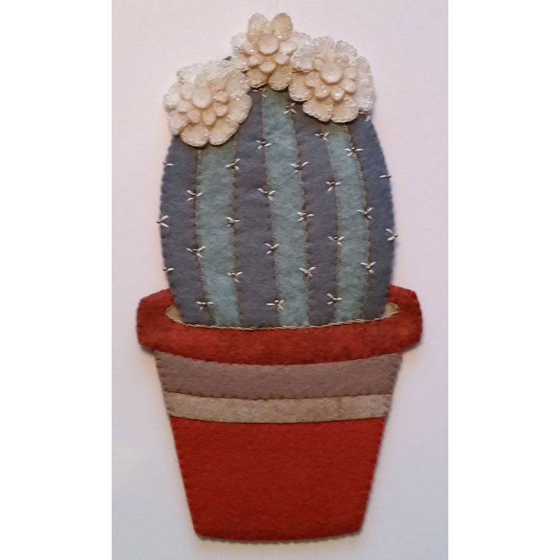 Artsi2™ Barrel Cactus Wool Felt Kit