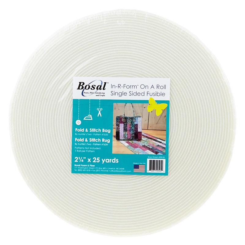 Bosal Katahdin 50 Yard Roll Stabilizer Fabric White 1